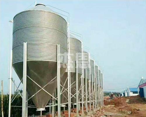 镀锌板养殖料塔
