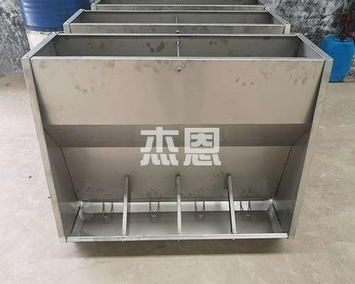不锈钢育肥双面食槽
